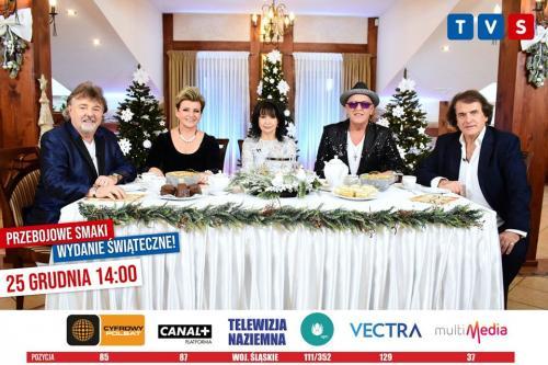 Przebojowe smaki - wydanie świąteczne TVS 25.12.2019